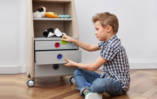 контейнер за детската стая