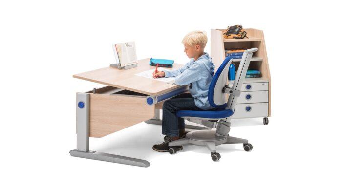 Ученически столове moll Maximo с ученически бюро Joker