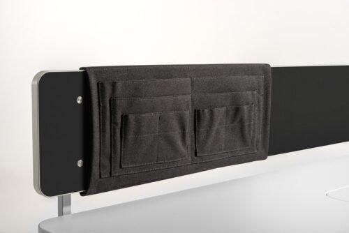 заден джоб за бюро moll Utensilo Behind, черен