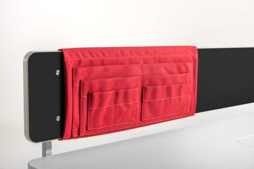 заден джоб за бюро moll Utensilo Behind, червен