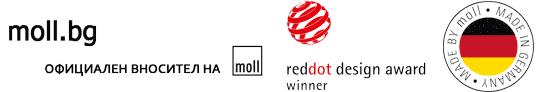 Детски ергономични ученически бюра, столове, лампи – moll.bg Logo