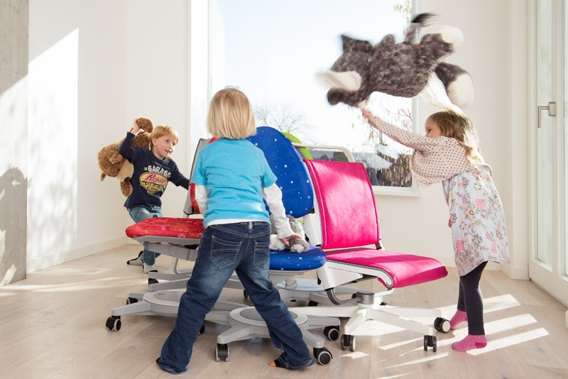 ергономичен детски стол Maximo, Petrol