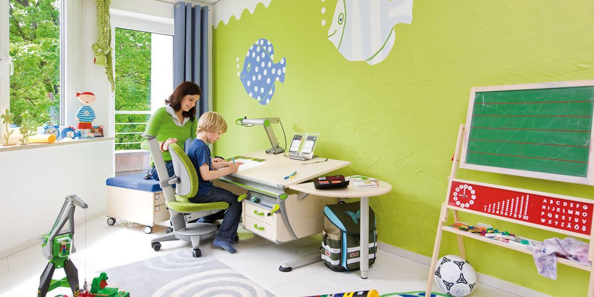 Здравето на малките зависи и от ергономията на детската стая
