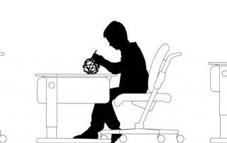 Изсрастване на бюрото на ученика