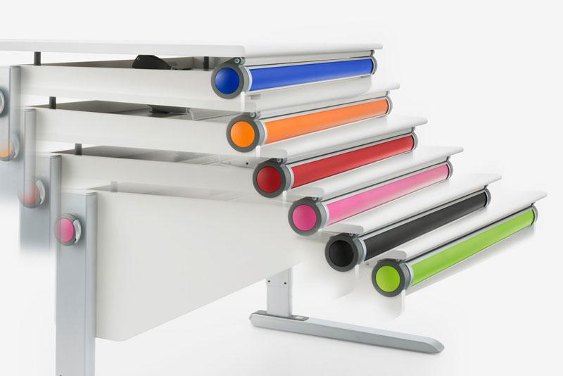 Комплект цветни елементи към бюро за детска moll Winner