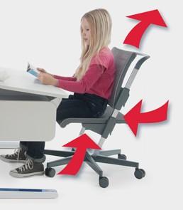 Детски стол moll с регулиране