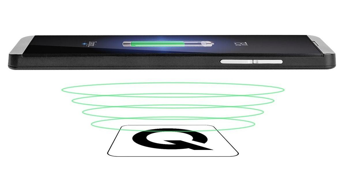 Адаптер за безжично зареждане QI-Charger за бюро Champion