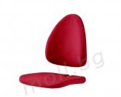 червена дамаска за детски стол