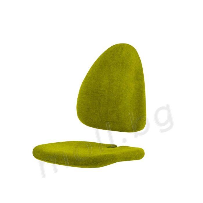 дамаскa за детски стол moll Maximo Lime
