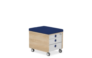 контейнер за детска стая с възглавничка
