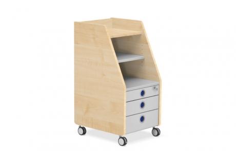детски контейнер с 3 чекмеджета