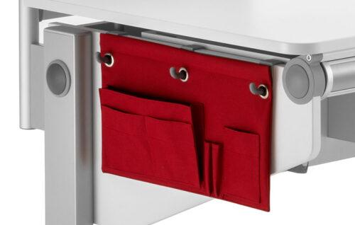 страничен джоб за детско бюро червен