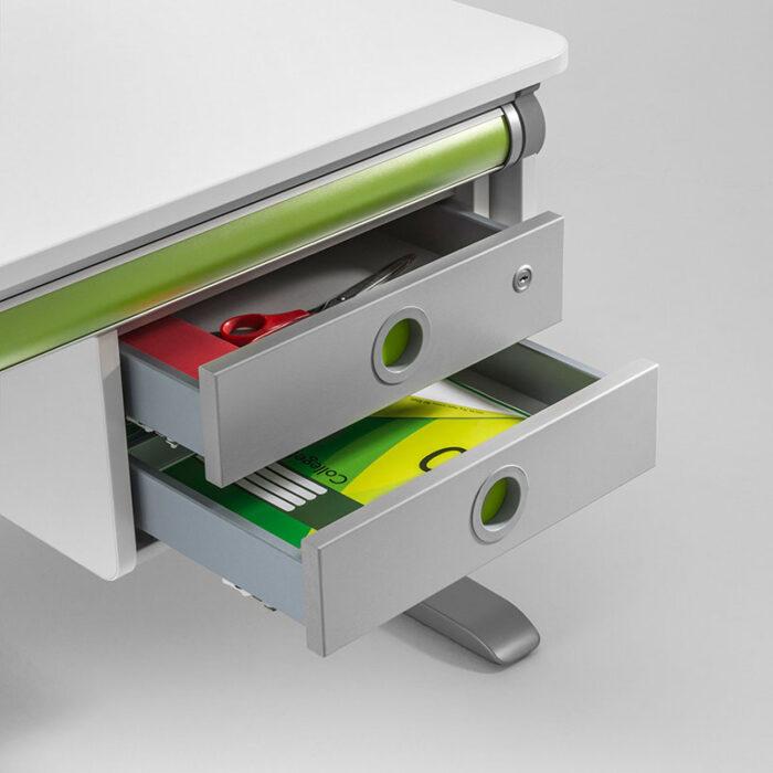 надстройка 2 чекмеджета Twin Box, бяла