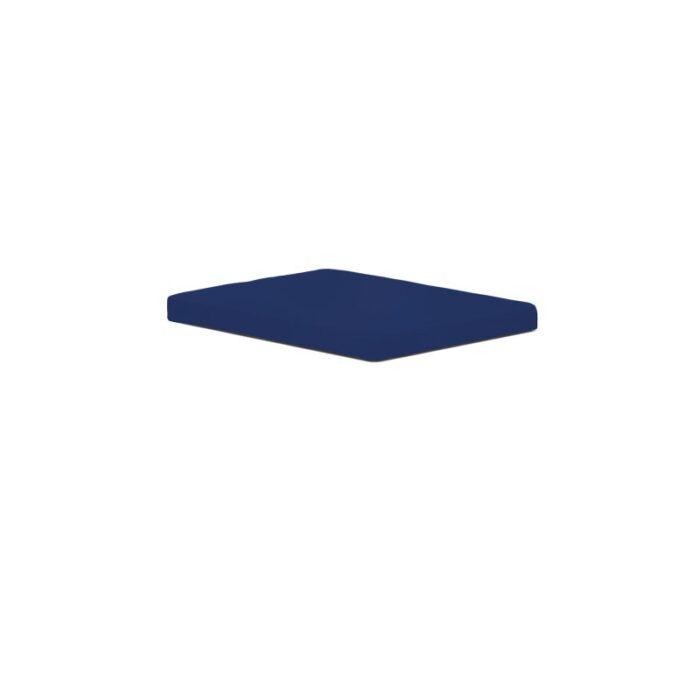 Възглавничка за сядане в син цвят