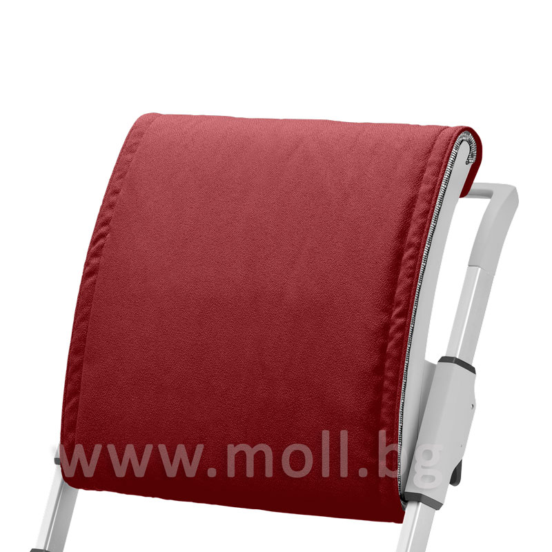 Възглавничка за облегалката на стол Scooter в червен цвят