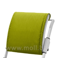 Възглавничка за облегалката на стол Scooter Lime