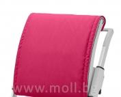 възглавничка за облегалката на стол Scooter розова