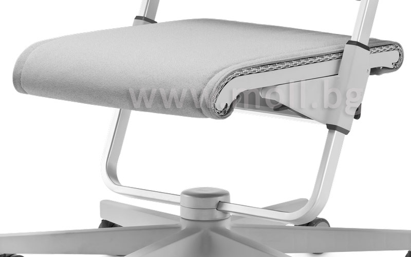 възглавничка за седалката на стол Scooter в сиво