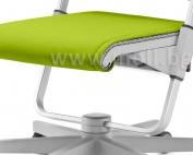 възглавничка за седалката на стол Scooter в зелено