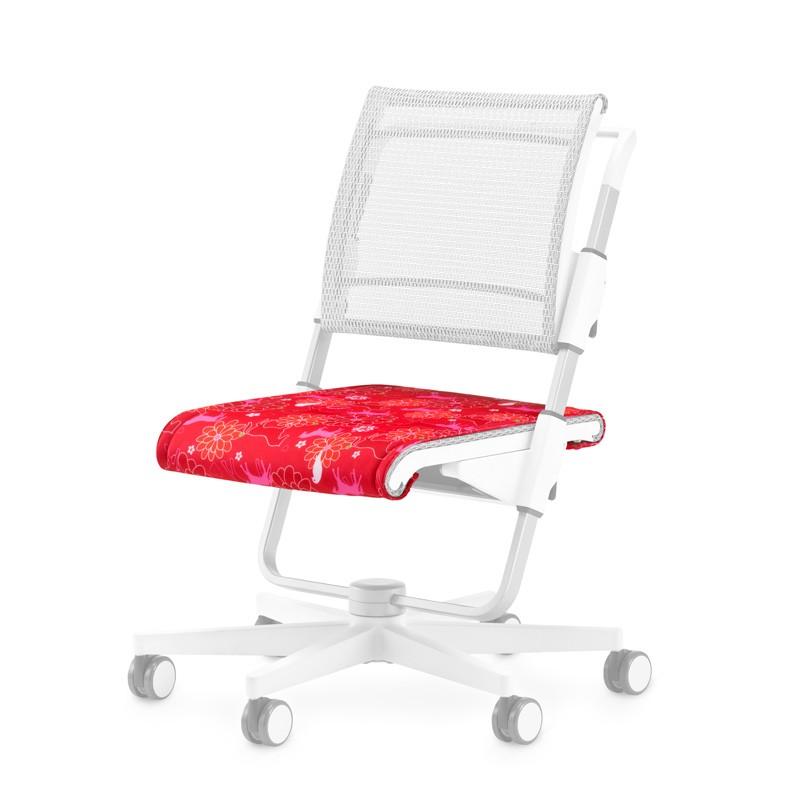 възглавничка за седалката на стол Scooter в розово-червено