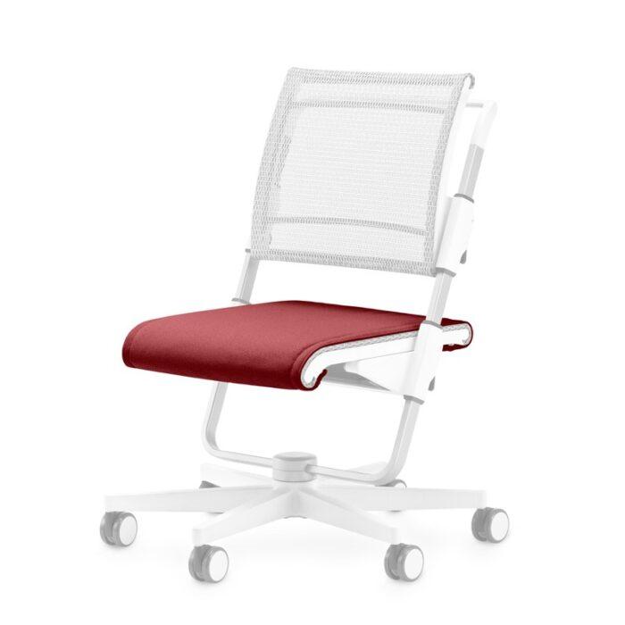 възглавничка за седалката на стол Scooter, червена