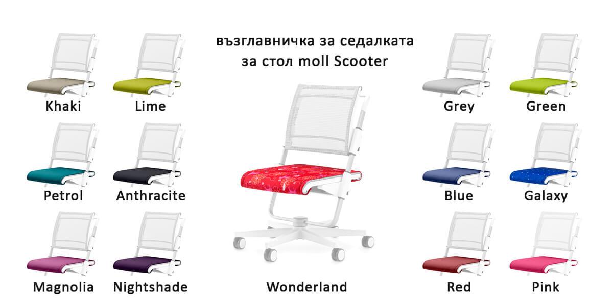 Възглавнички седалка детски стол