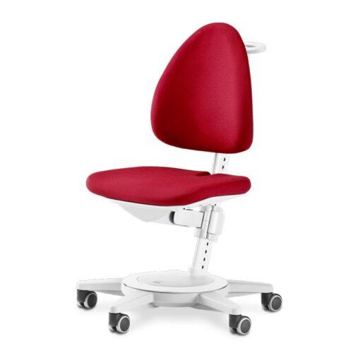 Ергономични столове moll Maximo с компактен дизайн в червен цвят.