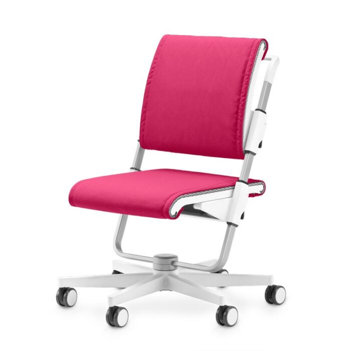 ергономичен стол в розово