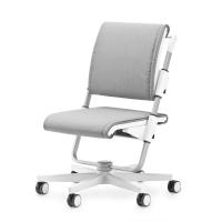 ергономичен стол в сиво