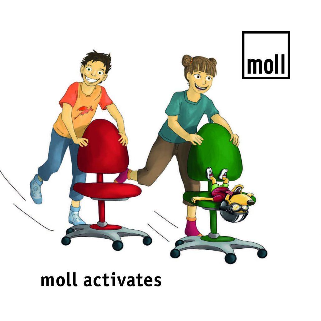 moll упражнения