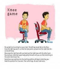 движение на колената