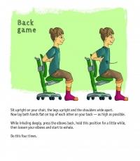 упражнения с гърба