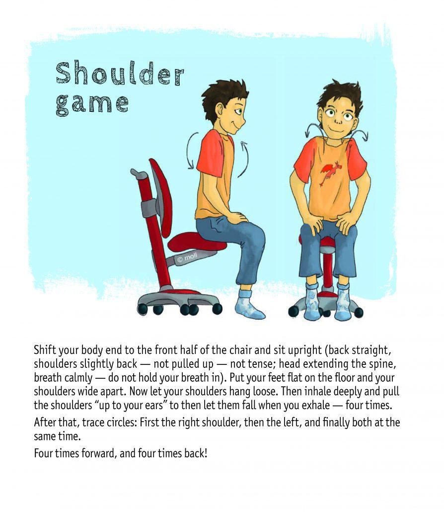 движение на рамената