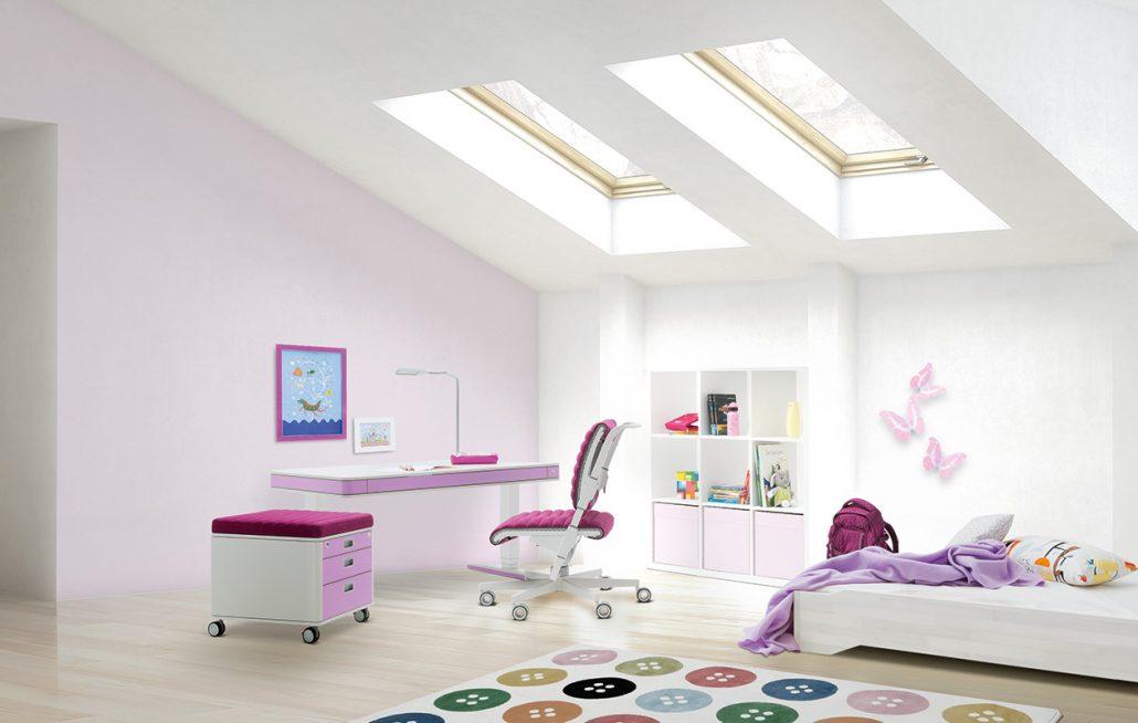 цветове в детската и юношеска стая