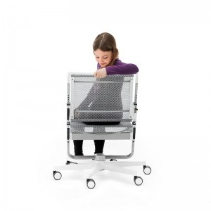 Регулиране височината на облегалката стола