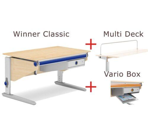 бюро moll Winner Classic 14, явор, Vario Box, Multi Deck - мостра
