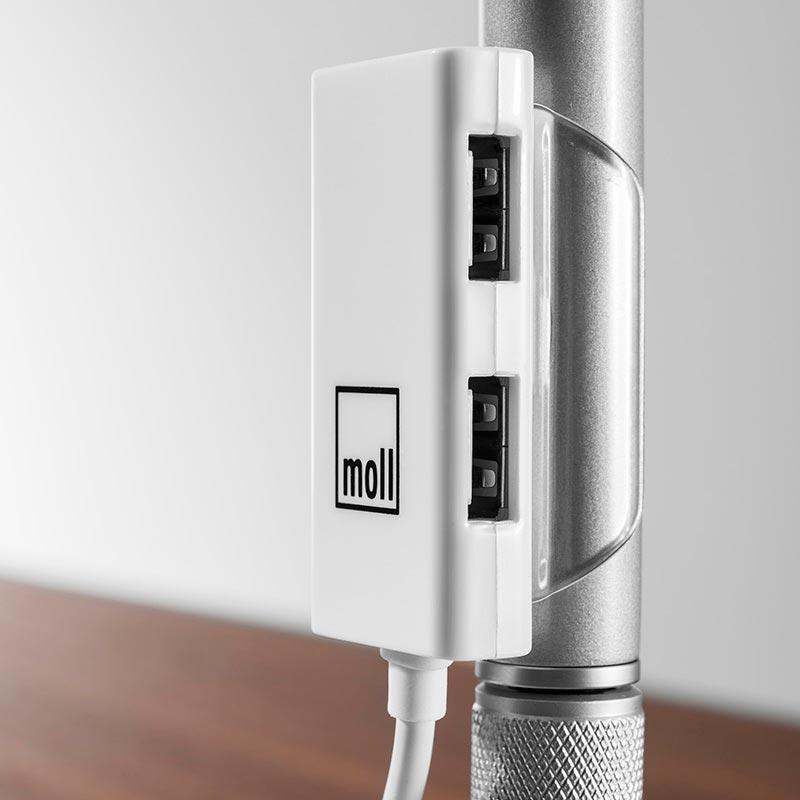 лампа с USB зарядни