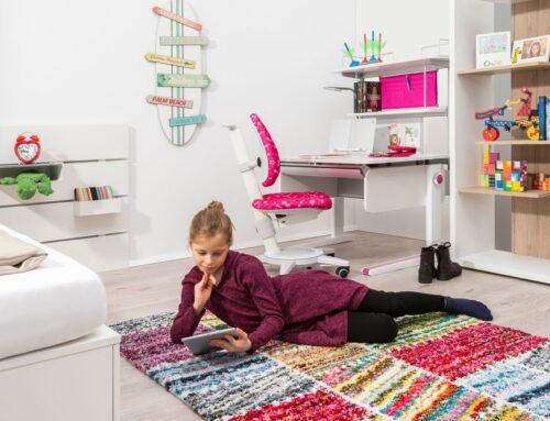 Защо бюрото в детската стая не трябва да е много детско?