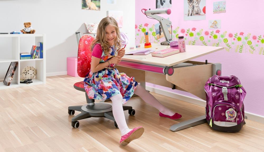детски мебели за обзавеждане на стая на първокласник