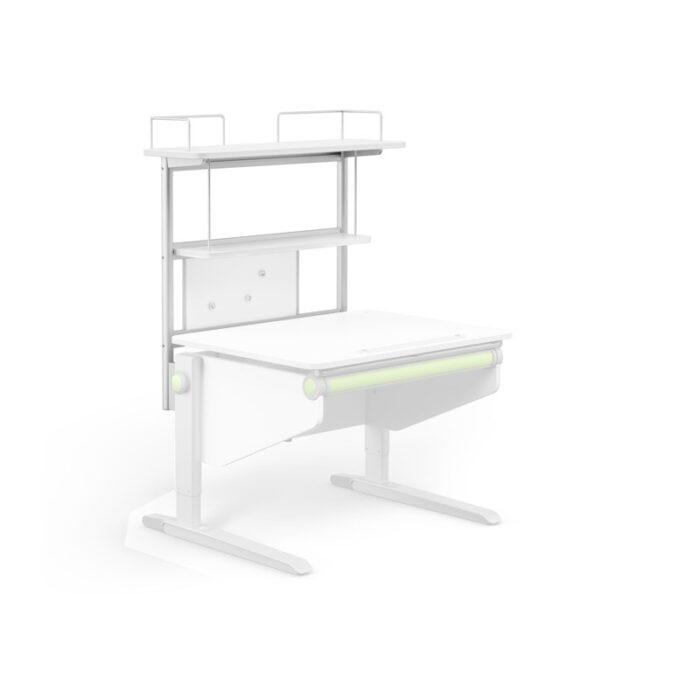 надстройка Flex Deck за бюро Winner Compact, бяла