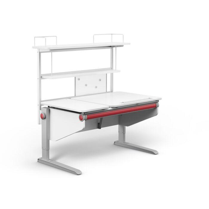 надстройка Flex Deck за детско бюро Winner в бяло