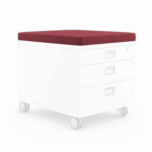 възглавничка за сядане moll Pad, Red