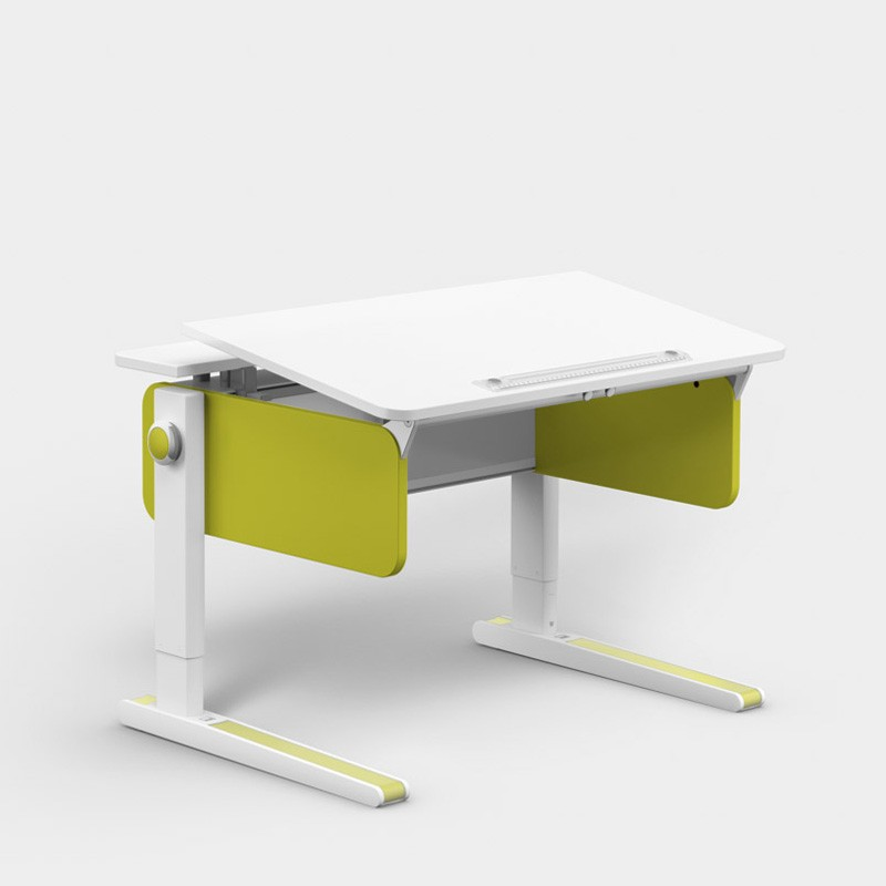 бюро за малка детска стая moll Champion Compact, странѝци в цвят Lime